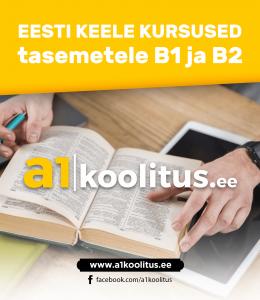 Eesti keele kurused tasemetele B1, B2